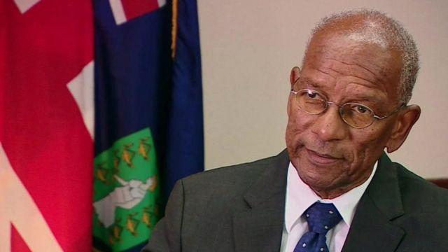 Orlando Smith, Premier of British Virgin Islands