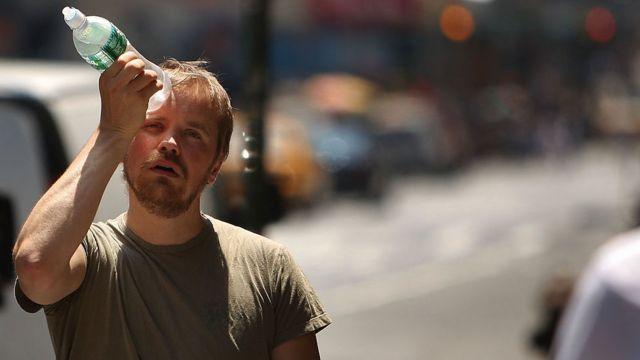 Calor en Nueva York