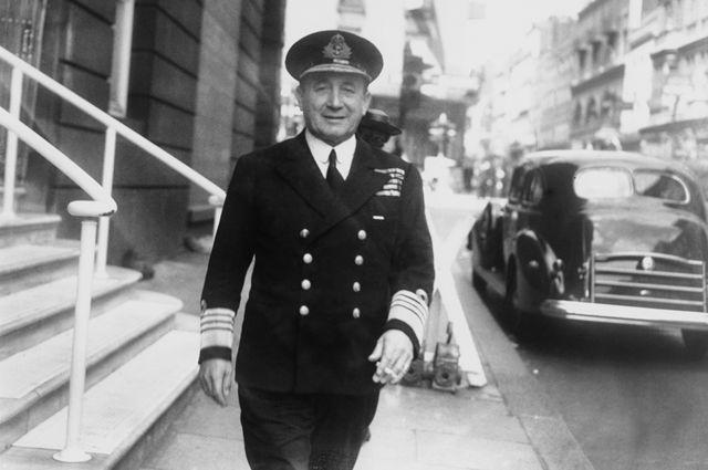 Sir Max Horton en 1942