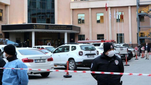 Hospital Universitário Sanko, na Turquia