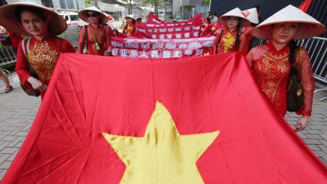 Củng cố sự hỗ trợ của Ấn Độ là một phần trong nỗ lực thu hút chú ý của quốc tế trong tranh chấp trên Biển Đông với Trung Quốc của Việt Nam