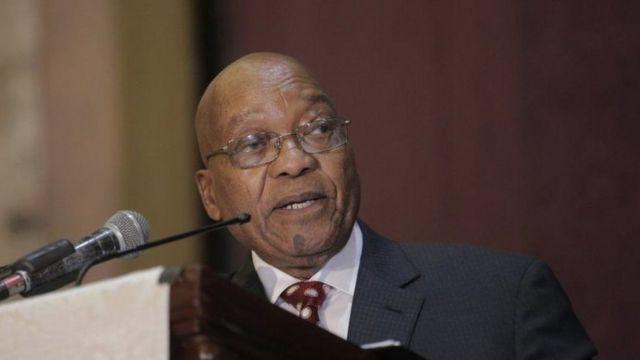 Rais wa Afrika Kusini Jacob Zuma