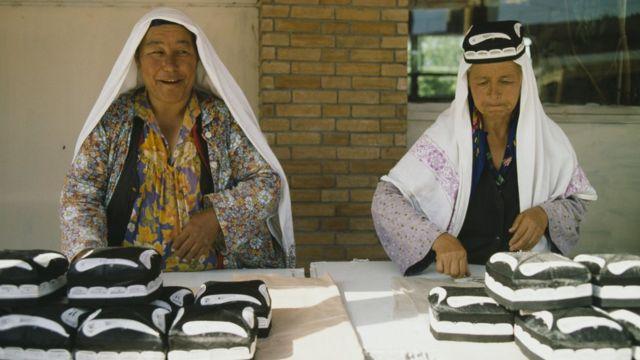 فروشندگان زن در ازبکستان