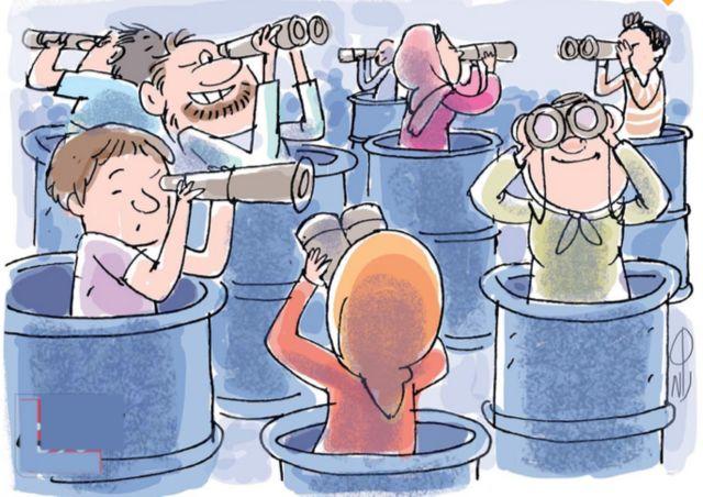 کارتون لاله ضیایی، قانون