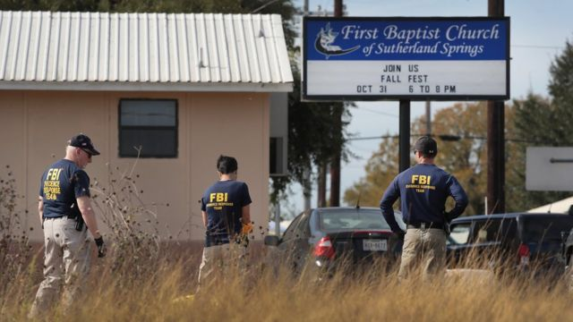 Агенты ФБР на месте преступления