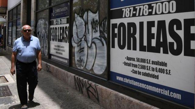 Deuda y crisis en Puerto Rico.