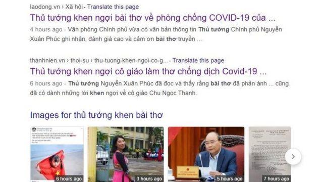 Báo chí trong nước đăng bài về việc thủ tướng khen ngợi