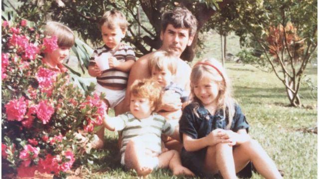 Sara Jaramillo y su familia.