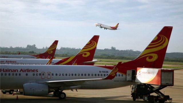Aviones de Hainan Airlines