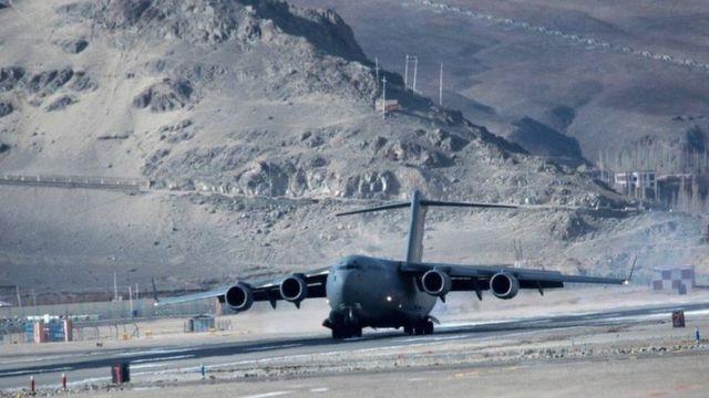 印度有全球海拔最高的飞机跑道,在去年完工。