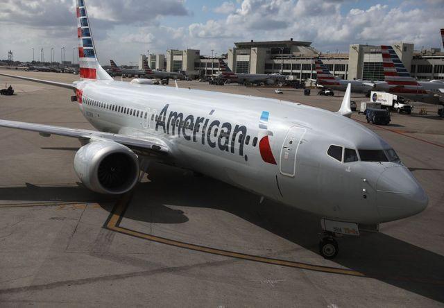 美國宣佈停飛波音737 Max客機