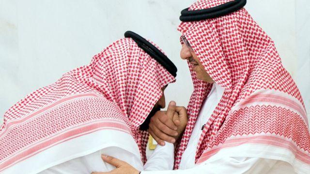 محمد بن نايف ومحمد بن سلمان