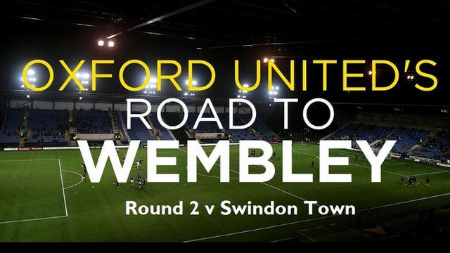 Oxford Utd road to Wembley - round 2