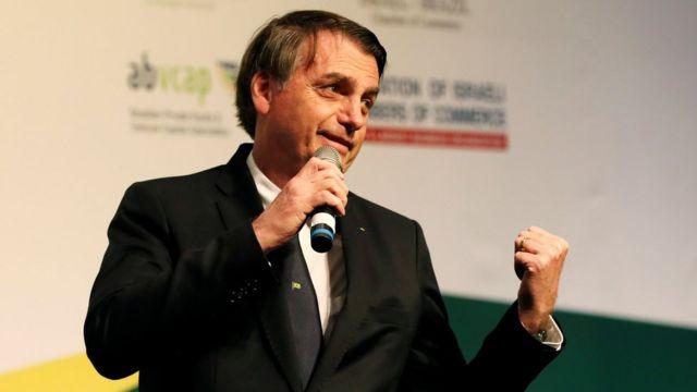 Bolsonaro em Israel
