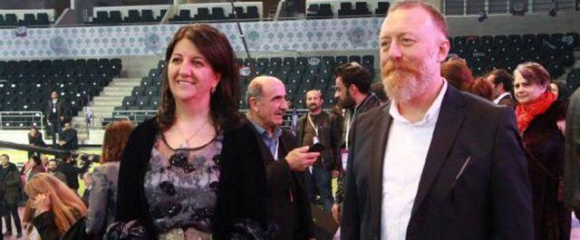 HDP Eş Başkanları Pervin Buldan ve Sezai Temelli