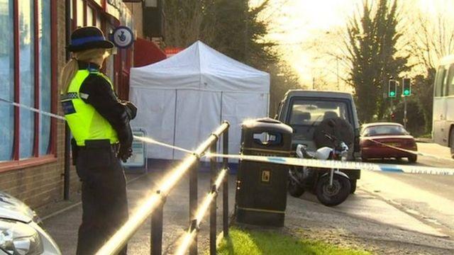 Man 'bites dog' minutes before death in Cambridge shop restraint