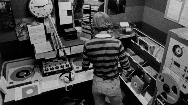 Radio stanica, arhivski snimak
