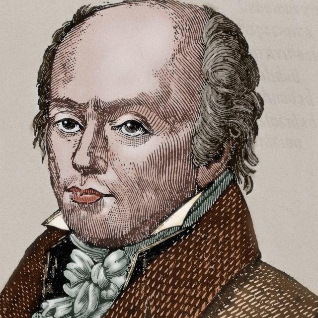 Franz Joseph Gall (1758-1828), neuroanatomista, fisiólogo y pionero en el estudio de la localización de las funciones mentales en el cerebro.