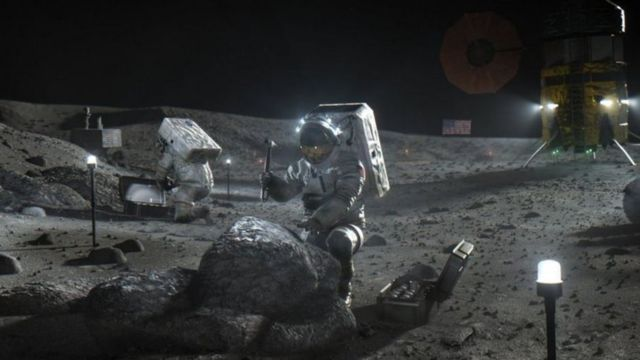 Illustration: NASA wants to go back and stay on the moon