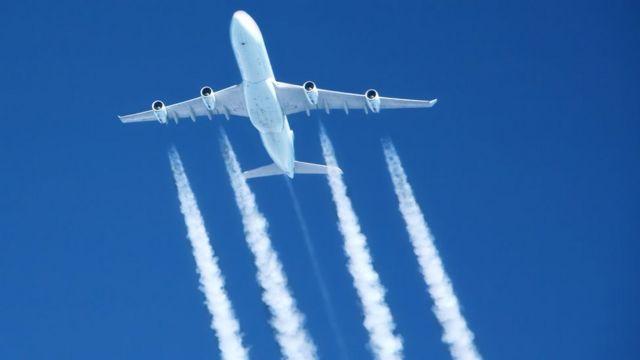 Lo Que Las Estelas De Los Aviones Están Haciendo A Nuestro Planeta Y No Tiene Que Ver Con Teorías De La Conspiración Bbc News Mundo