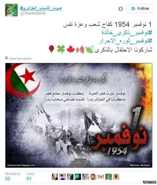 Algeria trend