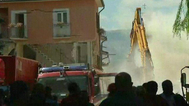 Amatrice aftershock