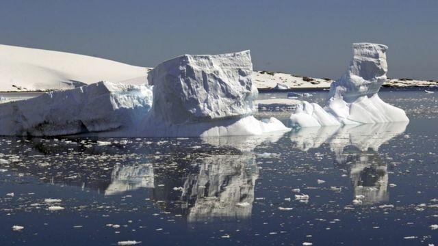 南大洋冰山