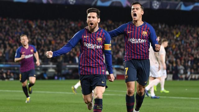 Lionel Messi ati Coutinho