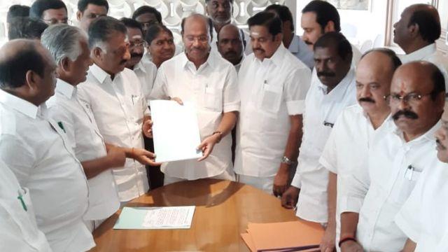மக்களவை தேர்தல் 2019: அதிமுக கூட்டணியில் பாமகவுக்கு 7 இடங்கள் ஒதுக்கீடு
