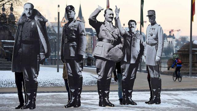 Protesta en Alemania contra movimientos de extrema derecha.