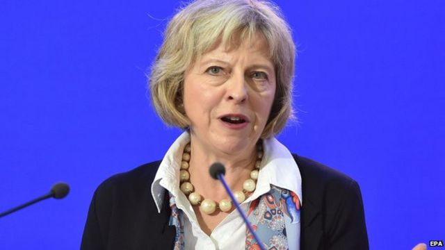 Theresa May: Free EU movement 'for those with jobs'