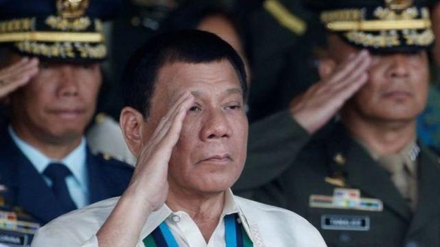 Shugaban Philippines Rodrigo Duterte