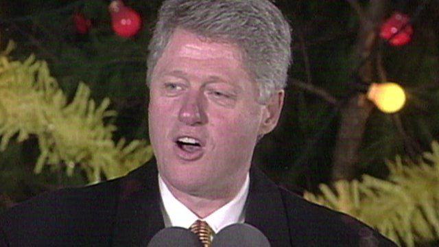 Bill Clinton Belfast