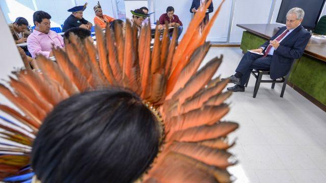 Fórum de caciques do Mato Grosso do Sul tem encontro com presidente da Funai
