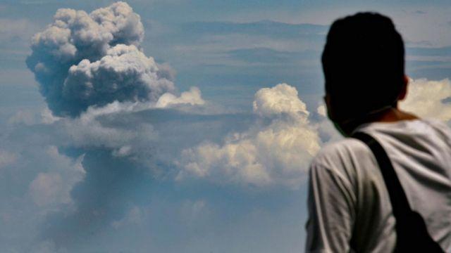 O vulcão Krakatoa