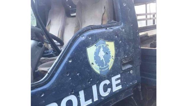 မိုင်းခွဲအတိုက်ခံရတဲ့ ရဲကား
