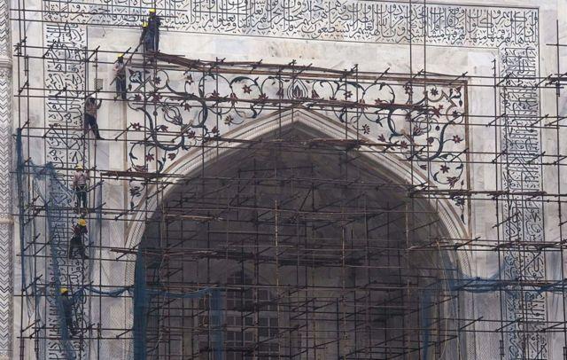 Dawladda ayaa si joogto ah u dayactirta Taj Mahal
