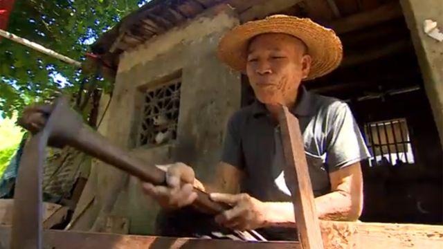 Pescador jubilado Su Chengfen