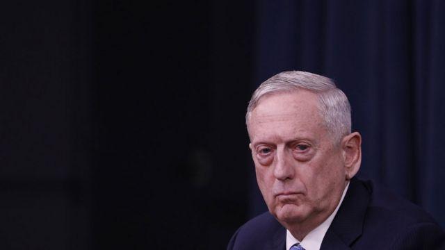 وزیر دفاع آمریکا می گوید شکی نیست که سوریه مسئول آن حمله در خانم شیخون است