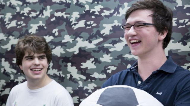 Gaming pays off for two teenagers
