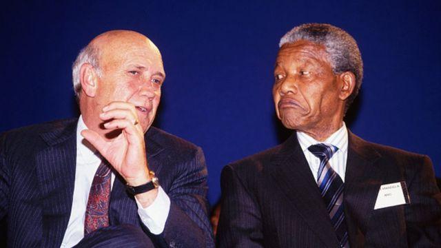"""L'ex président sud africain qui a"""" nié que l'apartheid était un crime contre l'humanité"""" avait pourtant accéléré sa fin"""