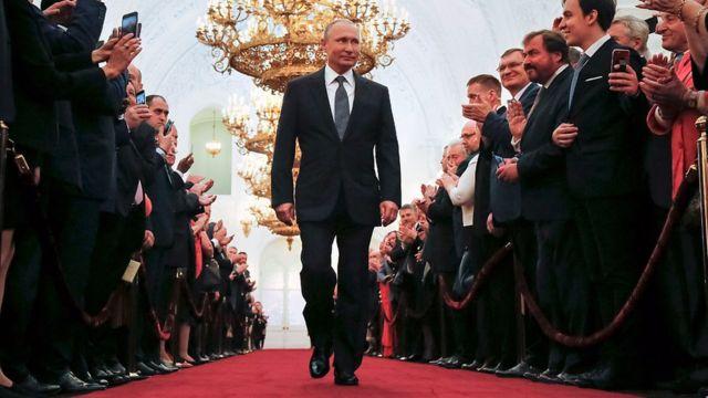 2018年5月,普京再度当选俄国总统