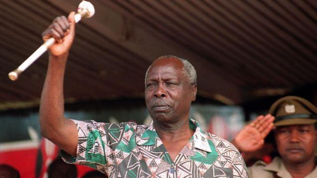 Rais Mstaafu Daniel arap Moi