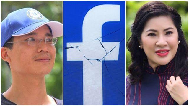 Doanh nhân Lê Hoài Anh và nhà hoạt động Hoàng Dũng là hai trong số hàng chục 'dân oan Facebook', rơi vào tình trạng mất 'nhà ảo'