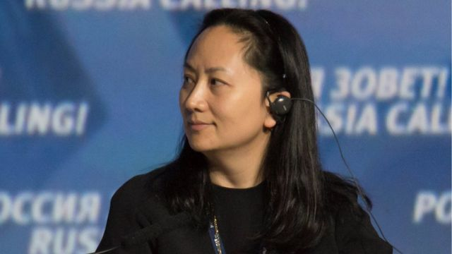 """Meng Wanzhou, Executive Board Director of the Chinese technology giant Huawei, attends a session of the VTB Capital Investment Forum """"Russia Calling!"""" in Moscow, Russia October 2, 2014."""