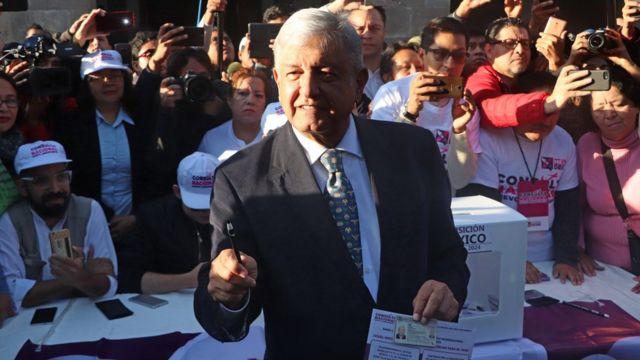 López Obrador en las urnas