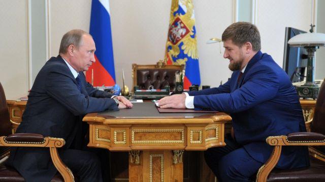 قدیروف و پوتین