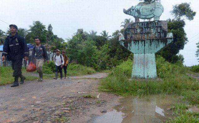 Taman Nasional Ujung Kulon adalah satu-satunya lokasi tempat tinggal badak Jawa yang terancam punah