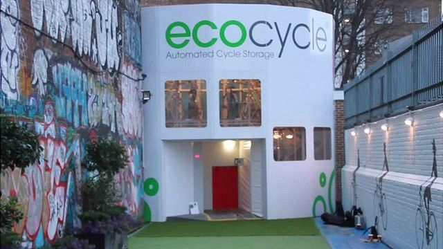 Ecocycle storage facility, Southwark, UK, 11 January 2016