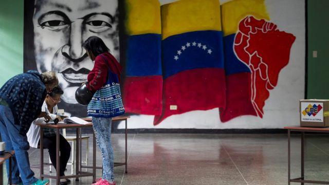 Elecciones en Veneuela